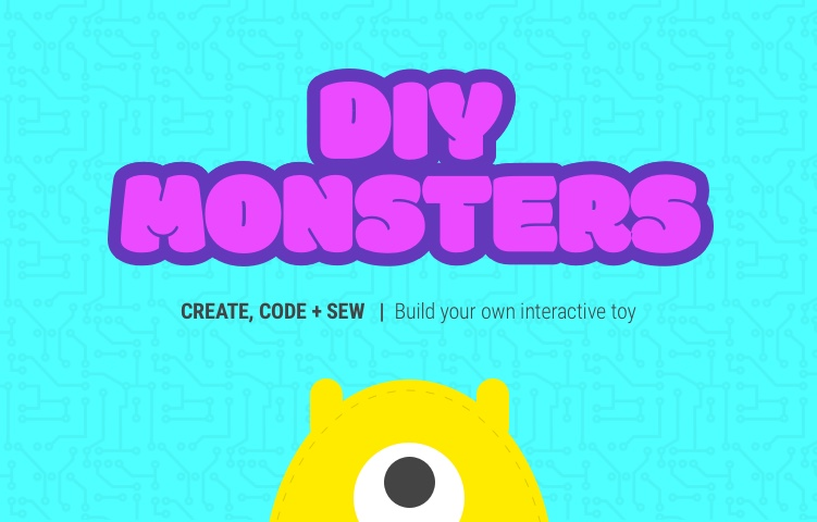 DIY Monsters: Code, Sew and Create